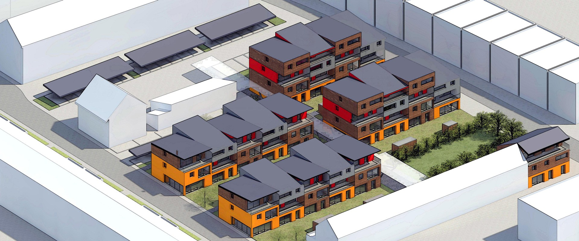 Construction ecoquartier