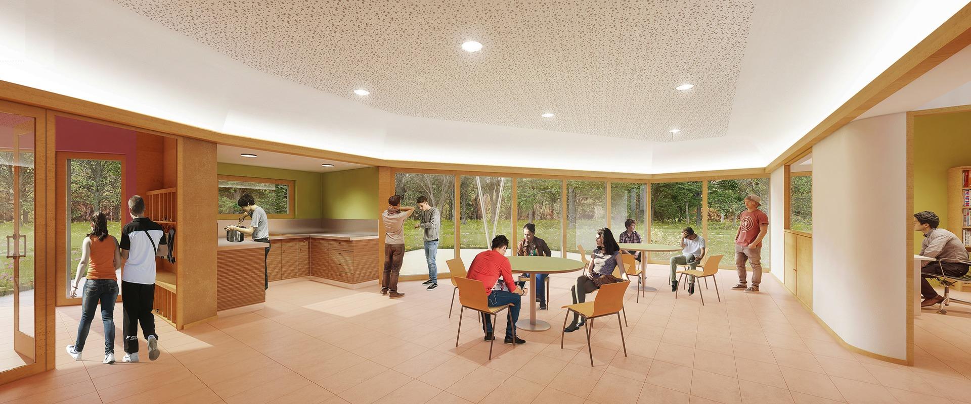 Conception architecte internat