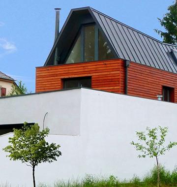 Maison étroite à Colmar
