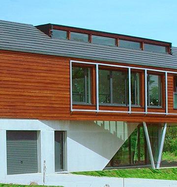 Maison pilotis à Colmar