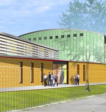 Gymnase à Colmar