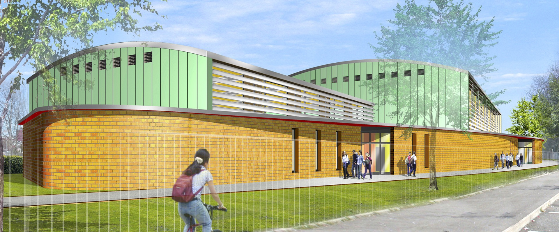 Construction gymnase