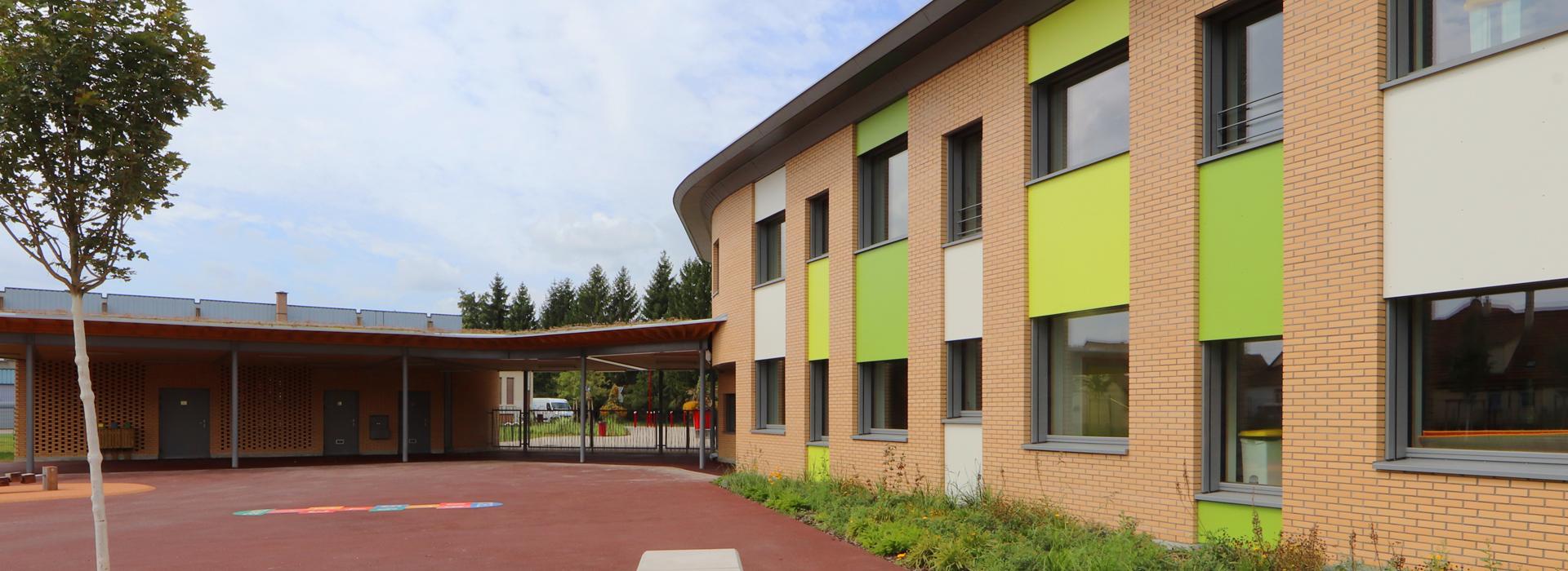façade Sud École élémentaire Plobsheim