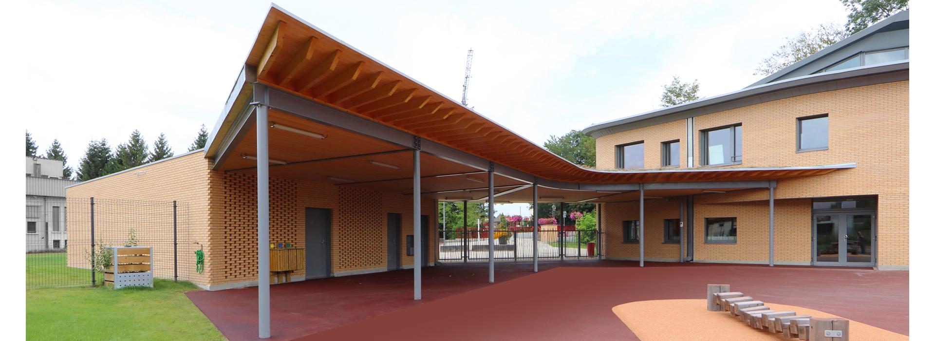 préau École élémentaire Plobsheim