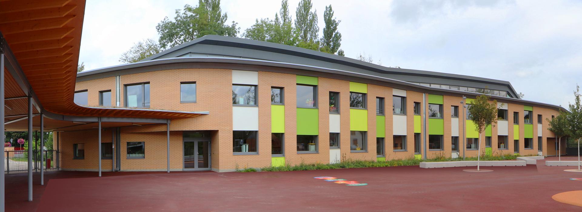 cour École élémentaire Plobsheim