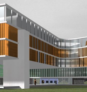 Immeuble de bureaux à Strasbourg