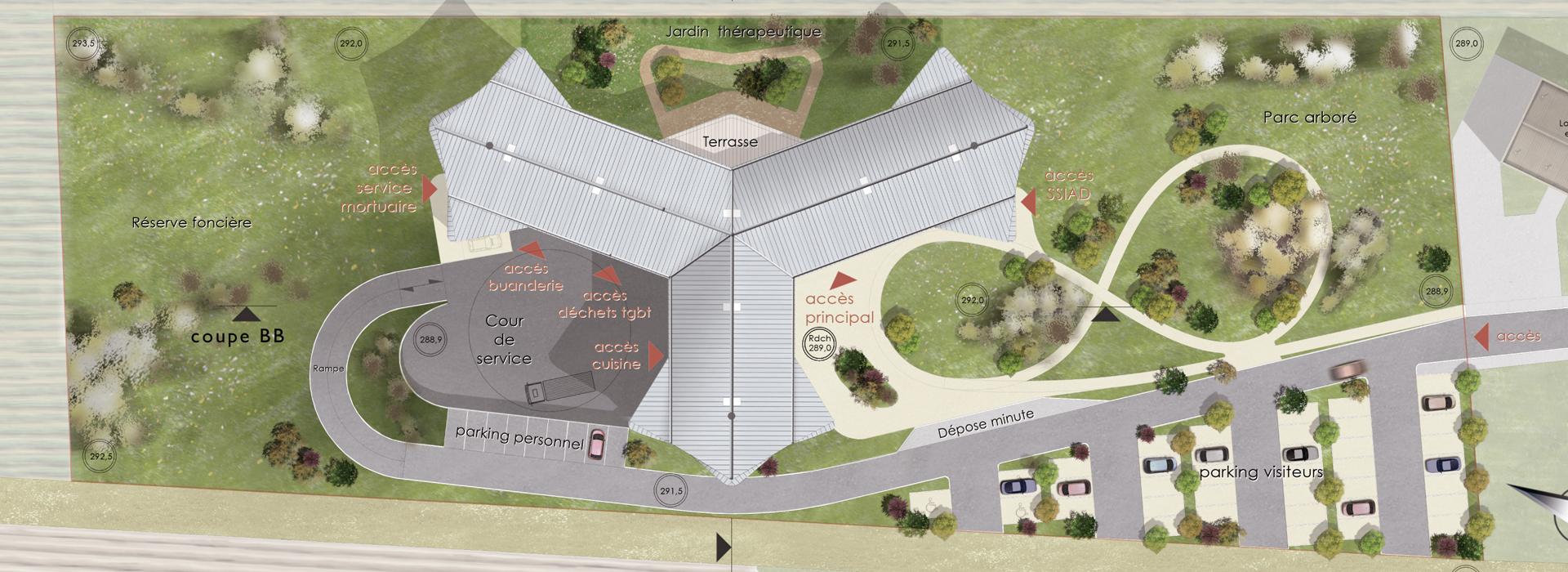 Architecte conception ephad
